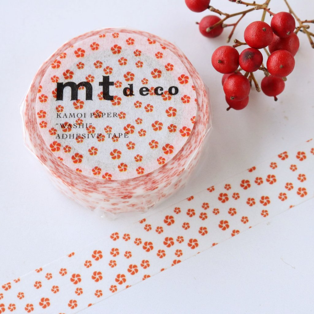 mt Washi Tape - Japanese Apricot MT01D427