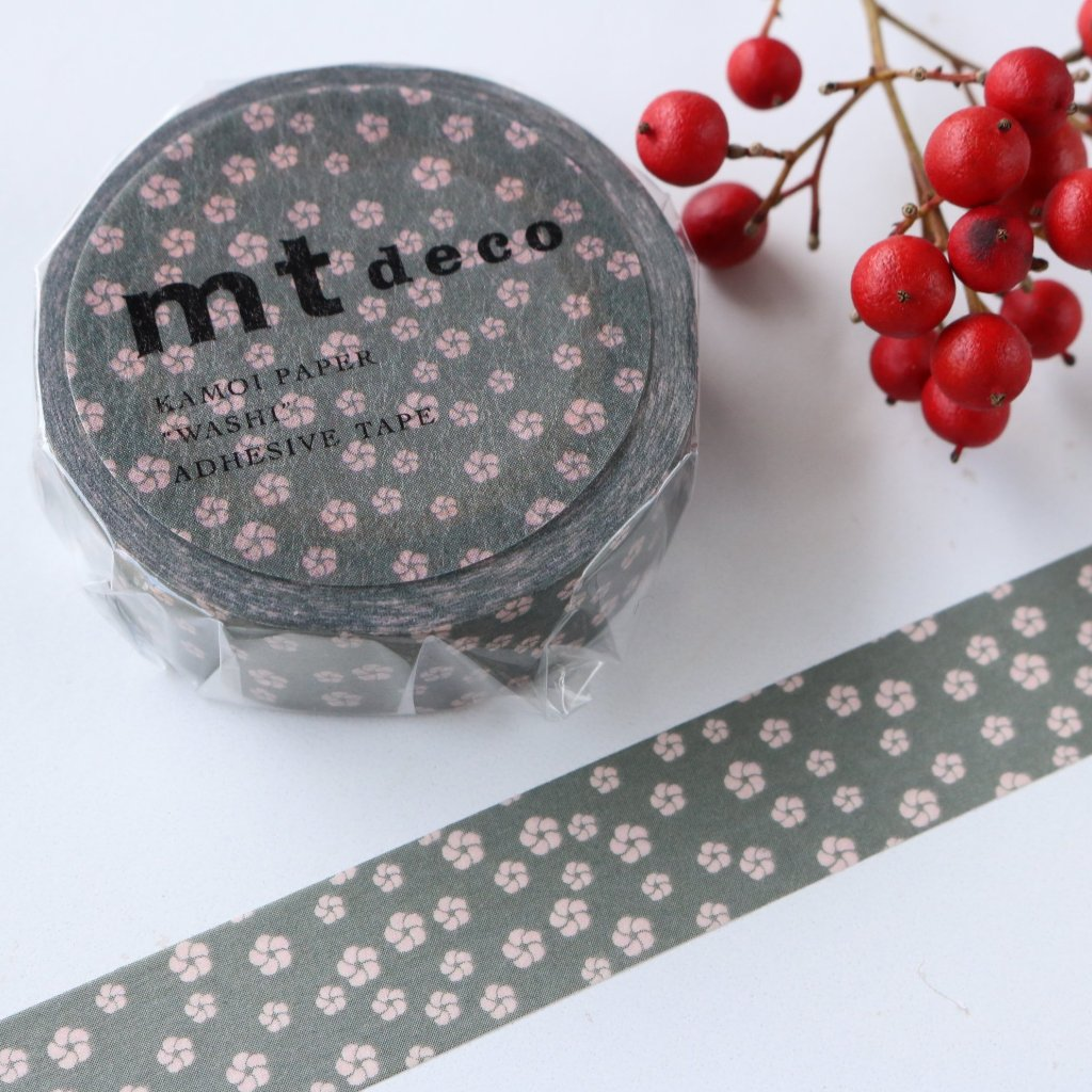 mt Washi Tape - Japanese Apricot MT01D428