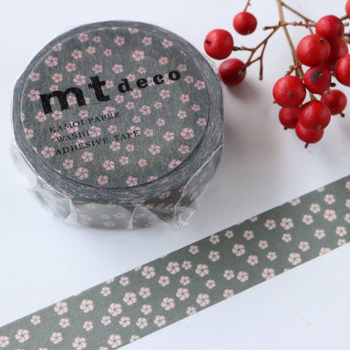 Washi Tape - Japanese Apricot Black