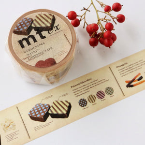 mt Washi Tape - Encyclopedia Chocolate MTEX1P152