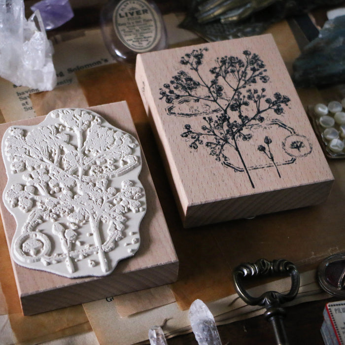Flower Large Stamp A