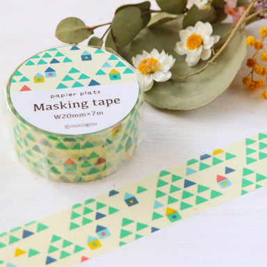 nocogou Washi Tape - Cottage