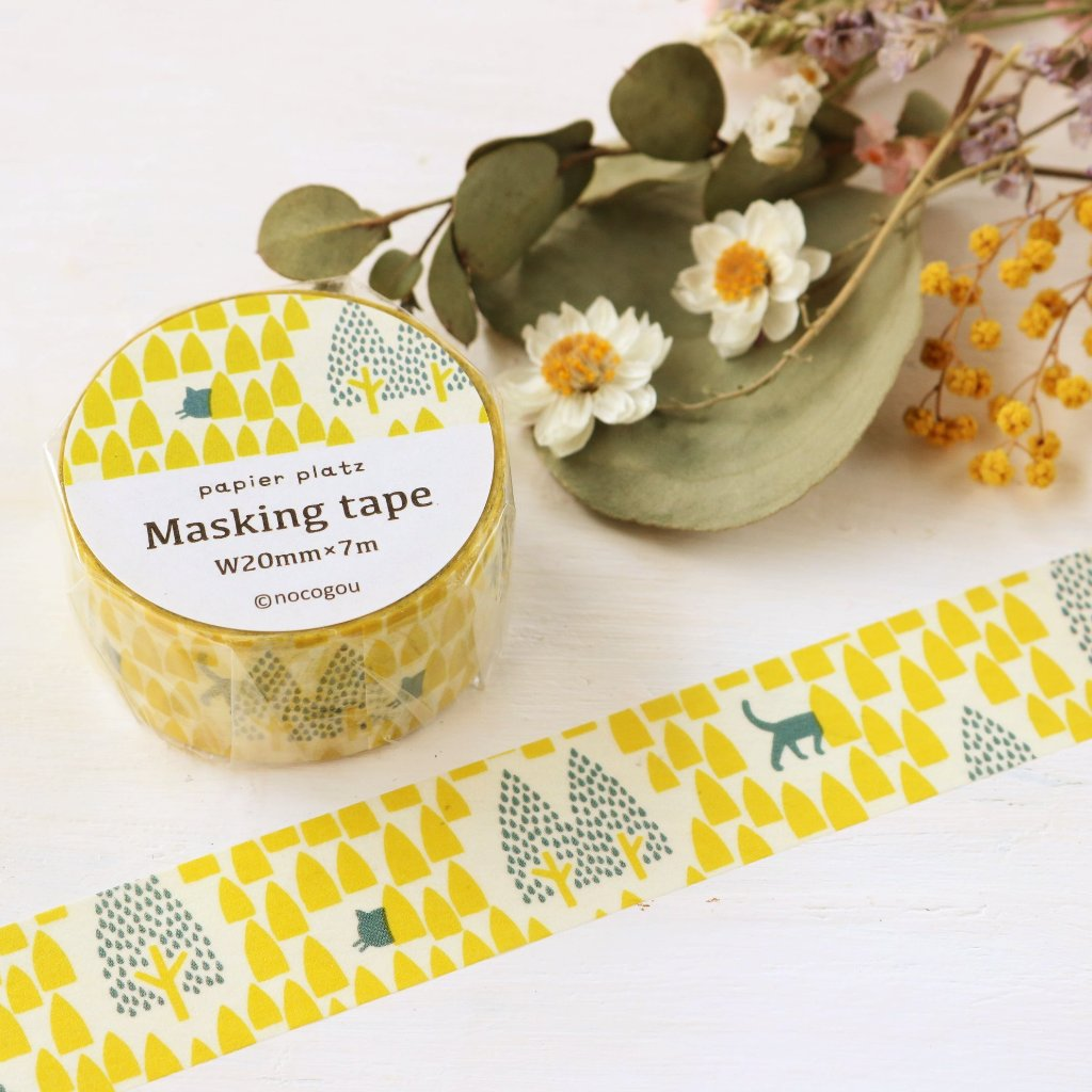 nocogou Washi Tape - Hide and Seek