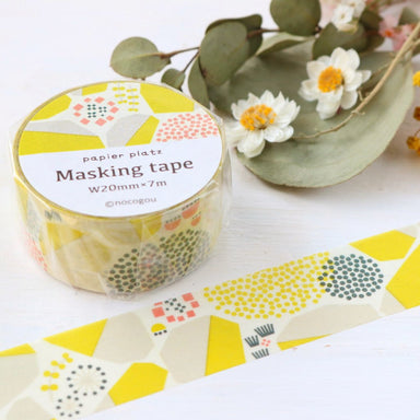 Washi Tape - Stone Wall Yellow