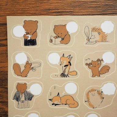 Planner Stickers - Bear's Coffee Shop