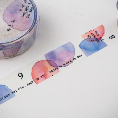 Yohaku Collage Washi Tape - Natsunoiro