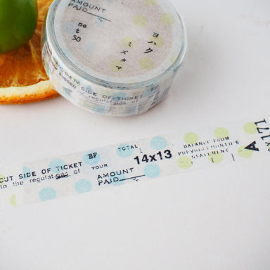 YOHAKU Collage Washi Tape - Dot