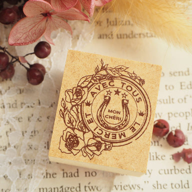 Tokyo Antique Rubber Stamp - Horseshoe
