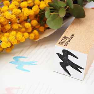 OSCOLABO Rubber Stamp - Swallow