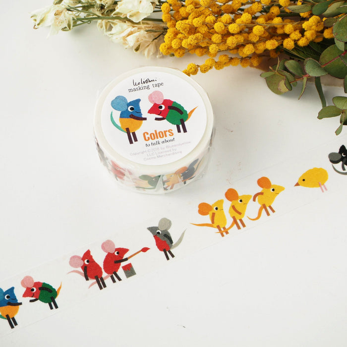 Leo Lionni Washi Tape - Colors