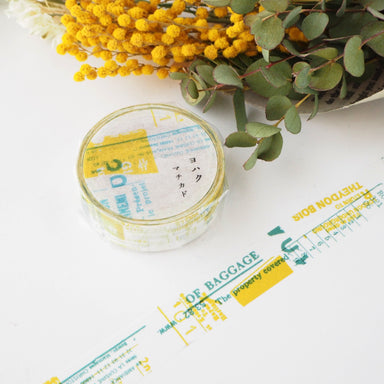 YOHAKU Collage Washi Tape - Town