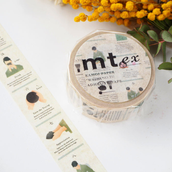 mt Washi Tape - Chanoyu MTEX1P145