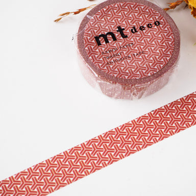 Washi Tape - Kumikikkou Red