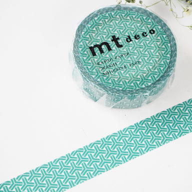 Washi Tape - Kumikikkou Green