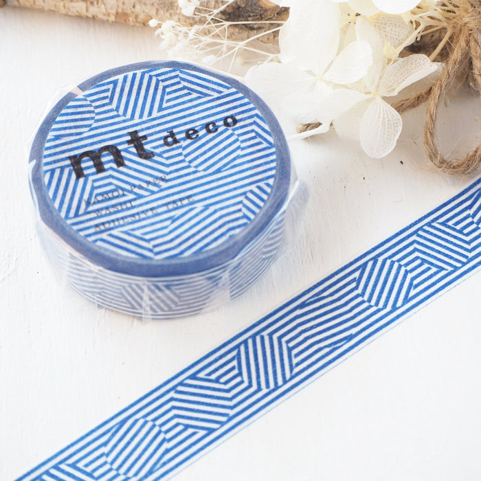 Washi Tape - Blue Patterns