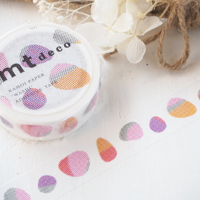 Washi Tape - Red Stones