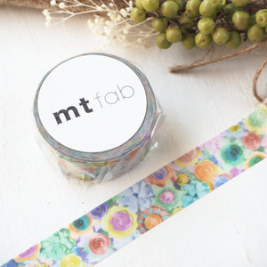 mt fab Washi Tape - Flower MTPL1P05