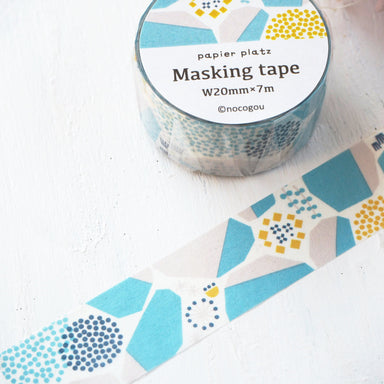 Washi Tape - Stone Wall Blue