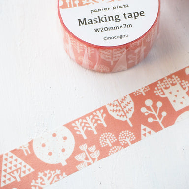 nocogou Washi Tape - Forest
