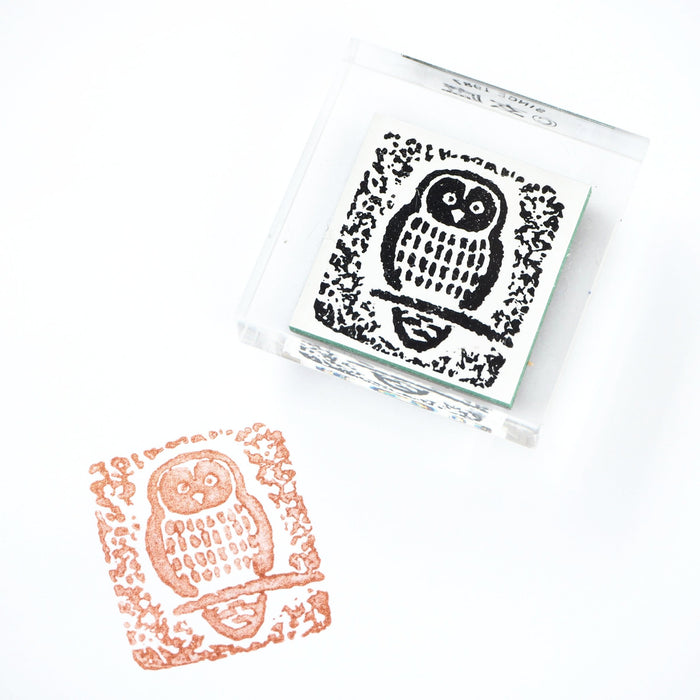 GENRO Rubber Stamp - Owl