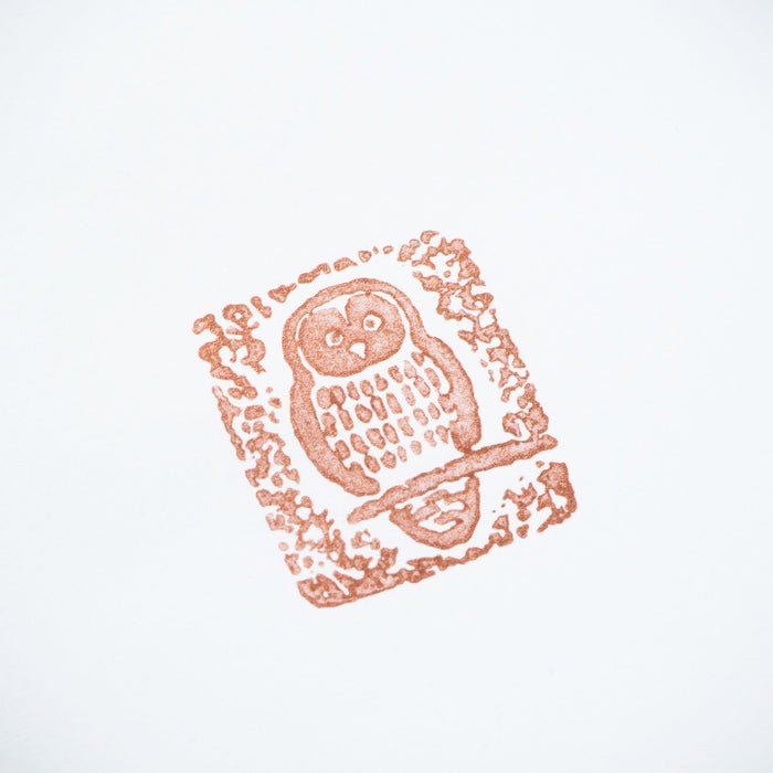 Rubber Stamp - Owl