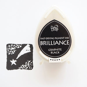 Brilliance Stamp Ink - Graphite Black 082