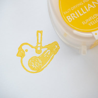 Brilliance Stamp Ink - Sun Flower Yellow