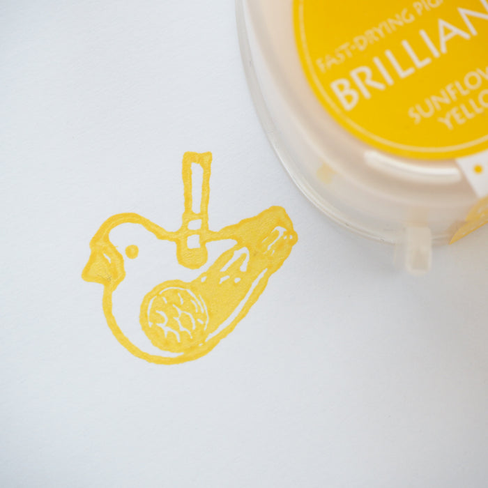 Brilliance Stamp Ink - Sun Flower Yellow 011