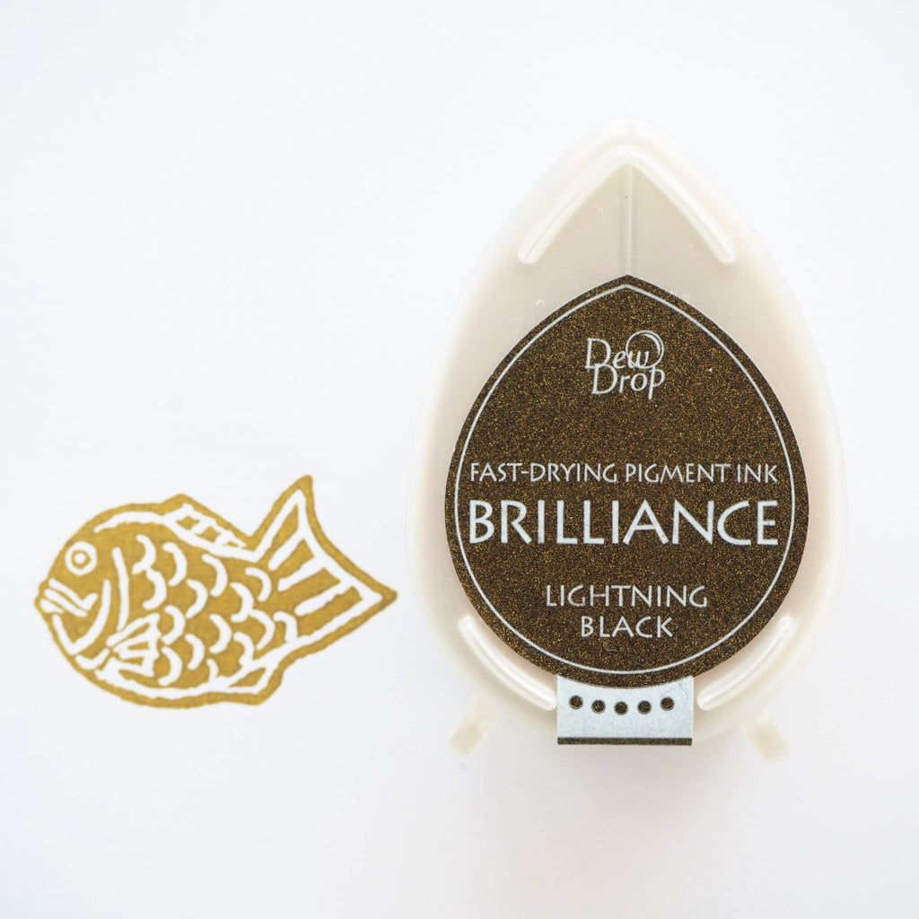 Brilliance Stamp Ink - Lightning Black 095