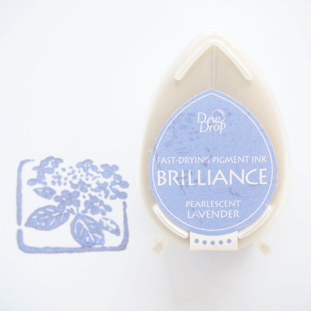 Brilliance Stamp Ink - Pearlescent Lavender 037