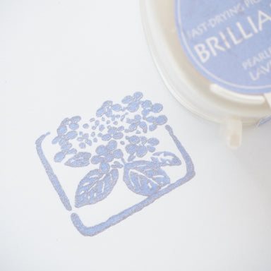 Brilliance Stamp Ink - Pearlescent Lavender