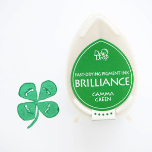 Brilliance Stamp Ink - Gamma Green 021