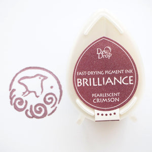 Brilliance Stamp Ink - Pearlescent Crimson 062