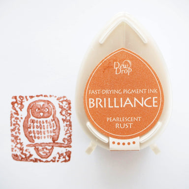 Brilliance Stamp Ink - Pearlescent Rust 061