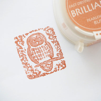 Brilliance Stamp Ink - Pearlescent Rust