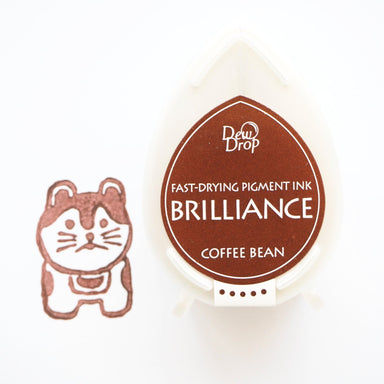 Brilliance Stamp Ink - Coffee Bean