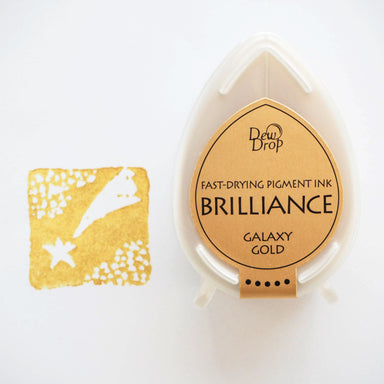 Brilliance Stamp Ink - Galaxy Gold