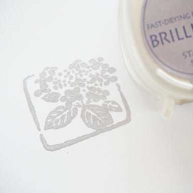 Brilliance Stamp Ink - Starlite Silver