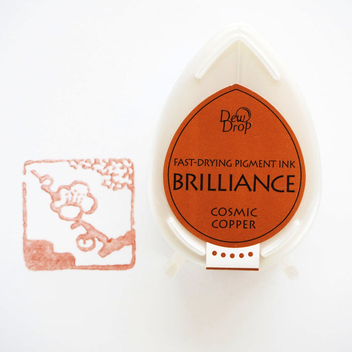 Brilliance Stamp Ink - Cosmic Copper 094
