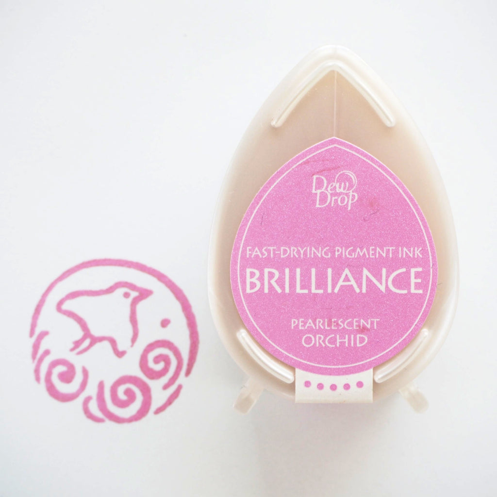 Brilliance Stamp Ink - Pearlescent Orchid 034