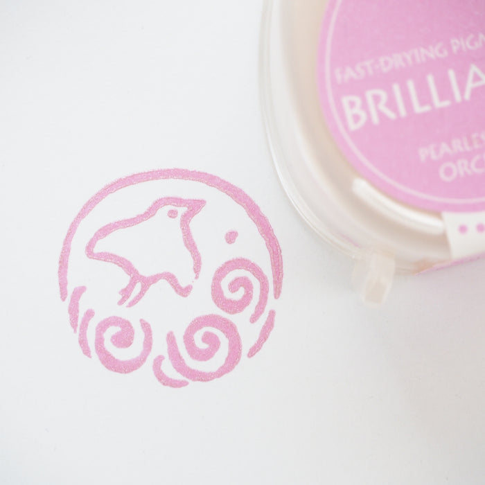 Brilliance Stamp Ink - Pearlescent Orchid