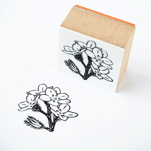 Yumi Imai Rubber Stamp - Forget-me-not