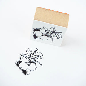 Yumi Imai Rubber Stamp - Bilberry