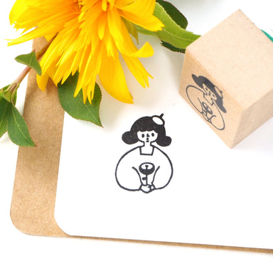 CTFJ x Yuko Takeda Rubber Stamp - Flower