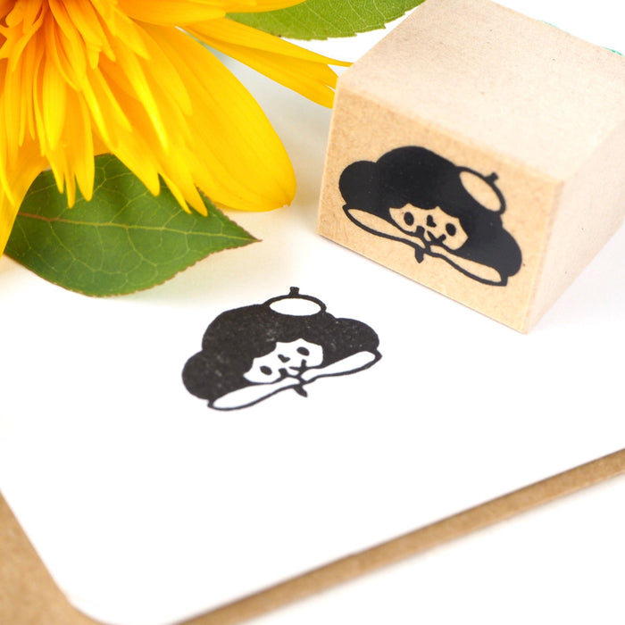 CTFJ x Yuko Takeda Rubber Stamp - Journal