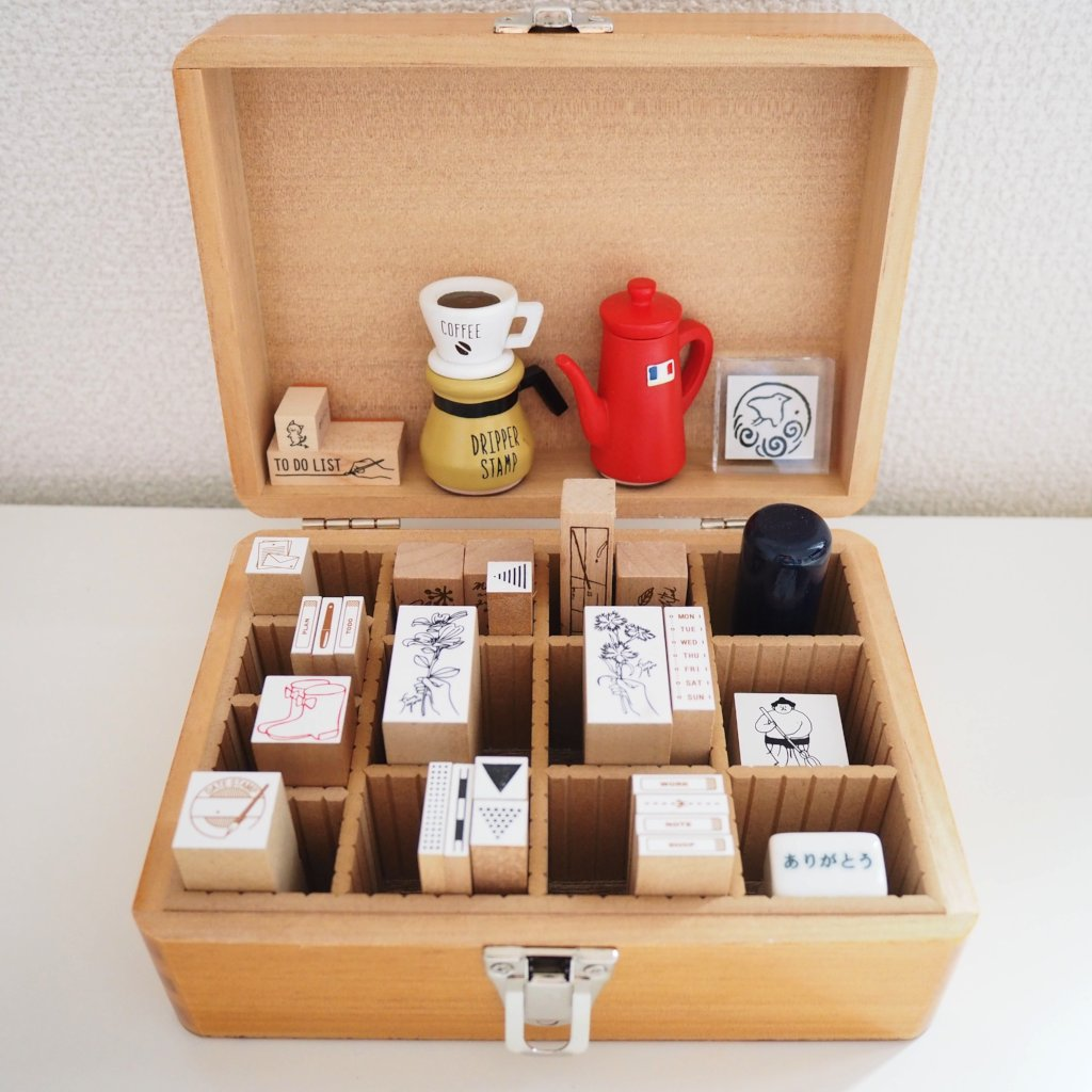 Customizable Stamp Storage Box - Medium