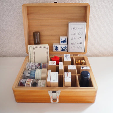 Customizable Stamp Storage Box - Large