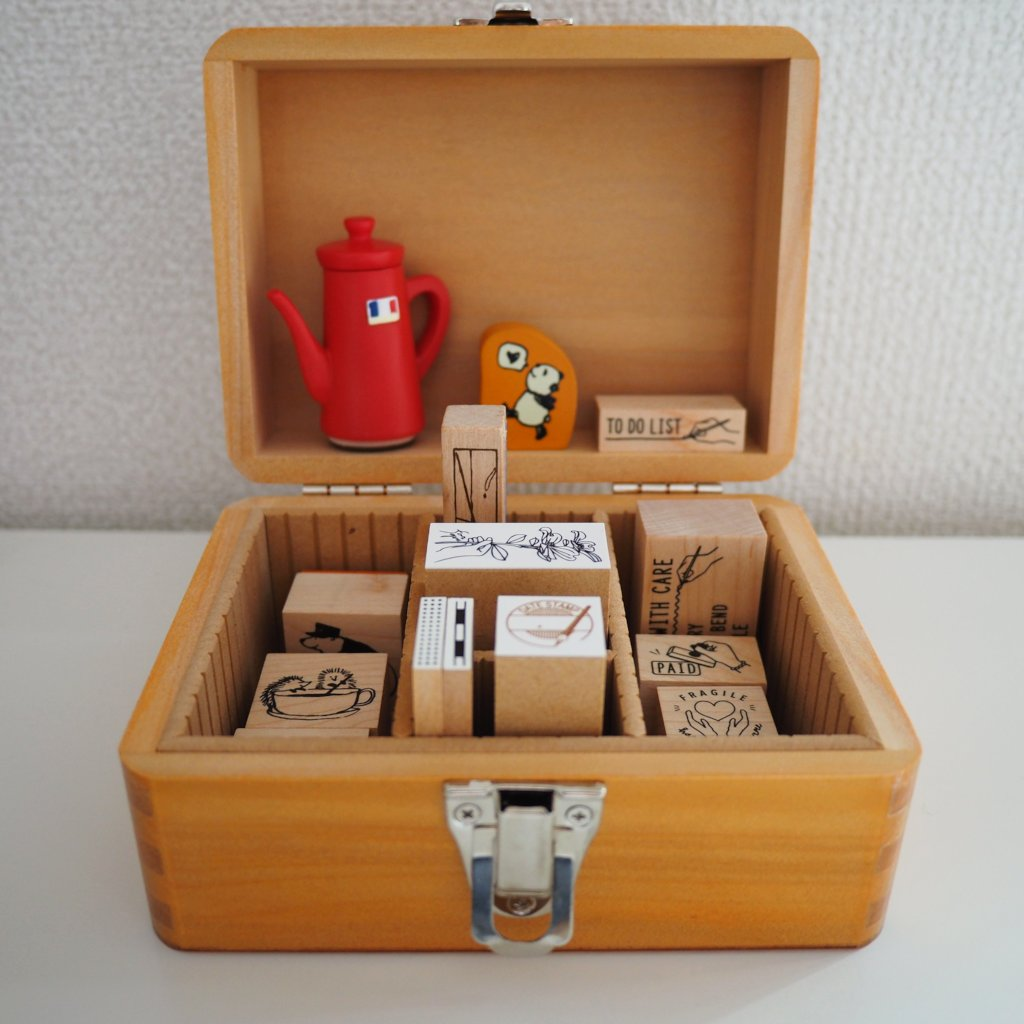 Customizable Stamp Storage Box - Small