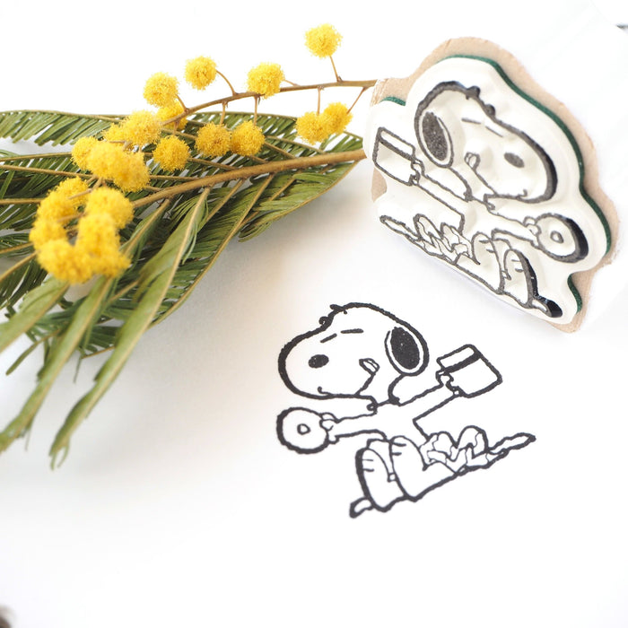 Snoopy Stamp - Cafe