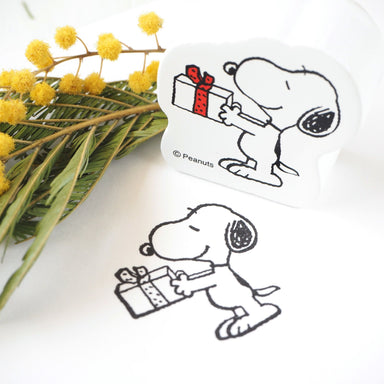 Snoopy Rubber Stamp - Gift